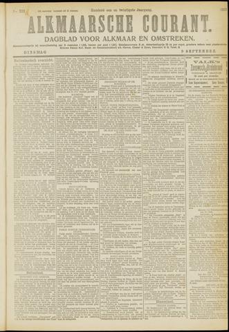 Alkmaarsche Courant 1919-09-09