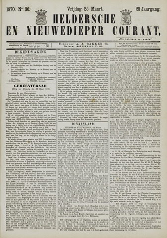 Heldersche en Nieuwedieper Courant 1870-03-25