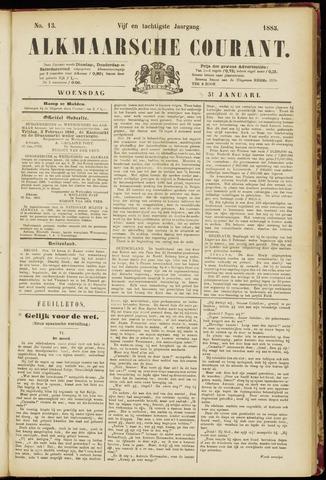 Alkmaarsche Courant 1883-01-31