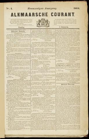 Alkmaarsche Courant 1864-01-03