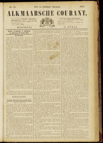 Alkmaarsche Courant 1881-04-13