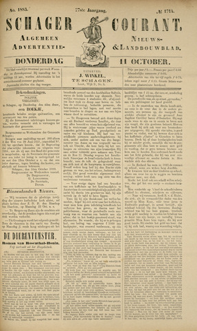 Schager Courant 1883-10-11
