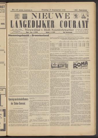 Nieuwe Langedijker Courant 1929-09-17