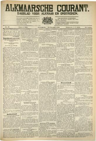 Alkmaarsche Courant 1930-03-24
