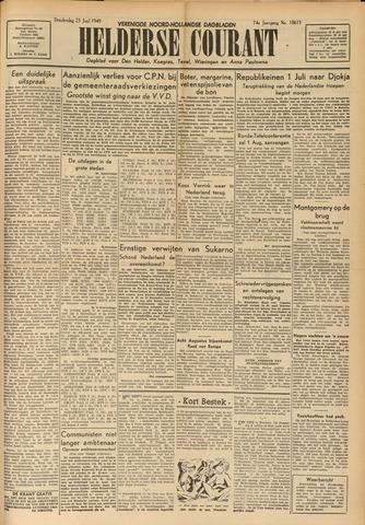 Heldersche Courant 1949-06-23