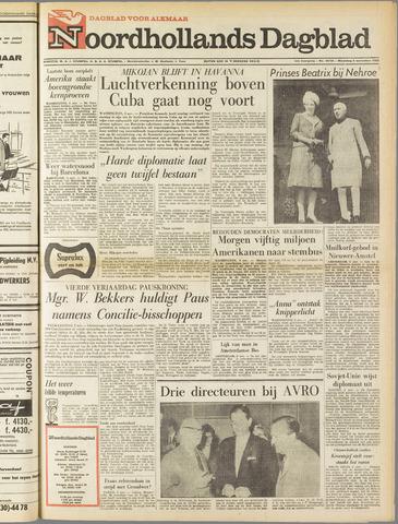Noordhollands Dagblad : dagblad voor Alkmaar en omgeving 1962-11-05