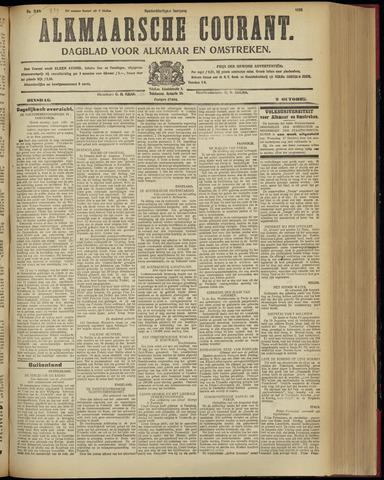 Alkmaarsche Courant 1928-10-09