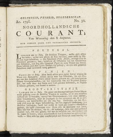 Noordhollandsche Courant 1798-08-08