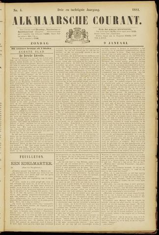 Alkmaarsche Courant 1881-01-09