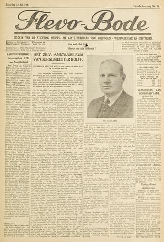 Flevo-bode: nieuwsblad voor Wieringen-Wieringermeer 1947-07-12