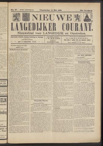 Nieuwe Langedijker Courant 1925-05-14
