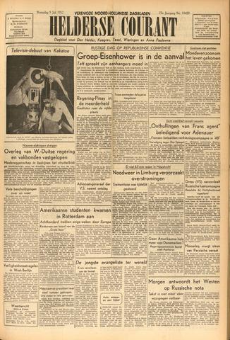 Heldersche Courant 1952-07-09