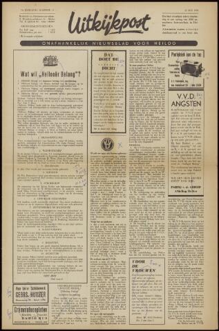 Uitkijkpost : nieuwsblad voor Heiloo e.o. 1958-05-22