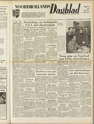 Noordhollands Dagblad : dagblad voor Alkmaar en omgeving 1954-03-16