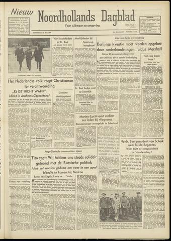 Nieuw Noordhollandsch Dagblad : voor Alkmaar en omgeving 1948-07-22
