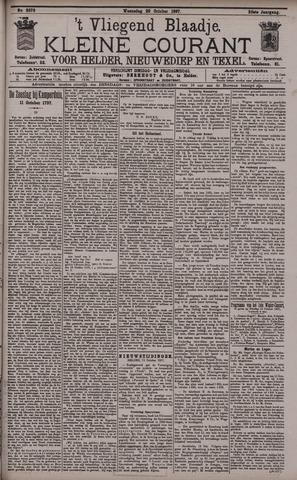 Vliegend blaadje : nieuws- en advertentiebode voor Den Helder 1897-10-20