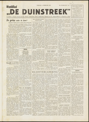 De Duinstreek 1952-02-08