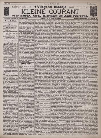 Vliegend blaadje : nieuws- en advertentiebode voor Den Helder 1914-01-24