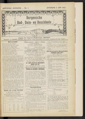 Bergensche bad-, duin- en boschbode 1922-06-03