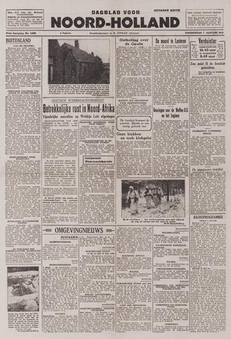 Dagblad Noord-Holland, Schager editie 1943-01-07