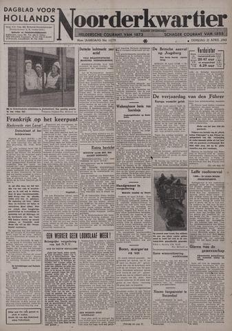 Dagblad voor Hollands Noorderkwartier 1942-04-21