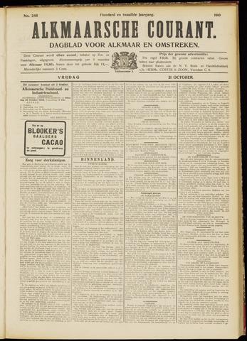 Alkmaarsche Courant 1910-10-21