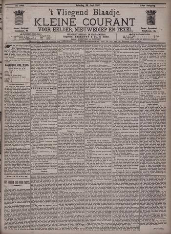 Vliegend blaadje : nieuws- en advertentiebode voor Den Helder 1897-06-26