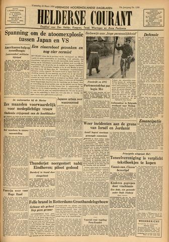 Heldersche Courant 1954-03-24