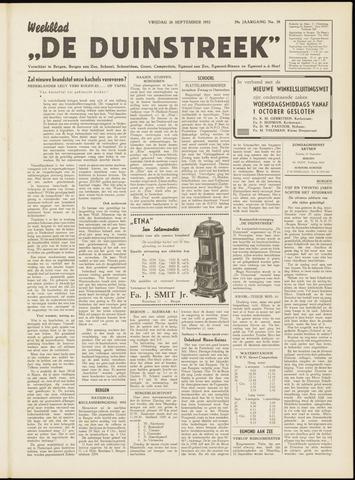 De Duinstreek 1952-09-26