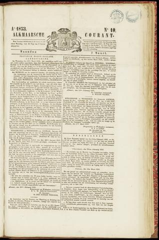 Alkmaarsche Courant 1853-03-07