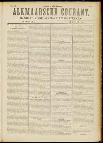 Alkmaarsche Courant 1909-08-14