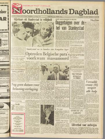 Noordhollands Dagblad : dagblad voor Alkmaar en omgeving 1964-11-25