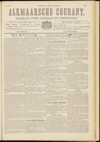 Alkmaarsche Courant 1914-12-14