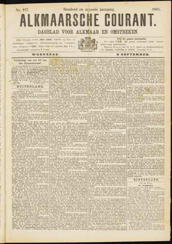 Alkmaarsche Courant 1905-09-06