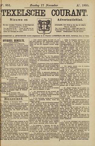 Texelsche Courant 1895-11-17