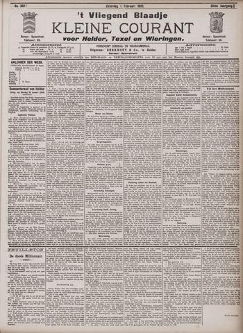 Vliegend blaadje : nieuws- en advertentiebode voor Den Helder 1902-02-01