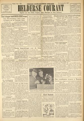 Heldersche Courant 1949-09-02