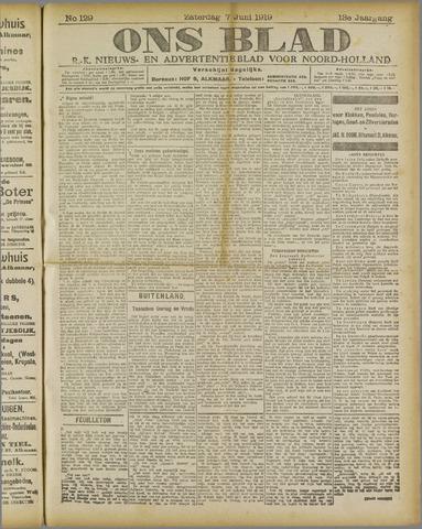 Ons Blad : katholiek nieuwsblad voor N-H 1919-06-07