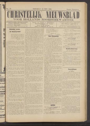 Nieuwe Langedijker Courant 1926-05-18