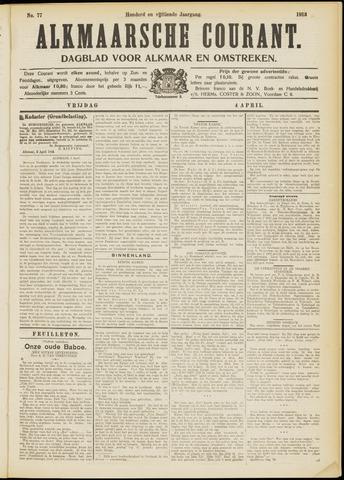 Alkmaarsche Courant 1913-04-04