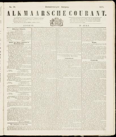 Alkmaarsche Courant 1874-07-26