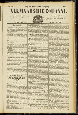 Alkmaarsche Courant 1893-11-15