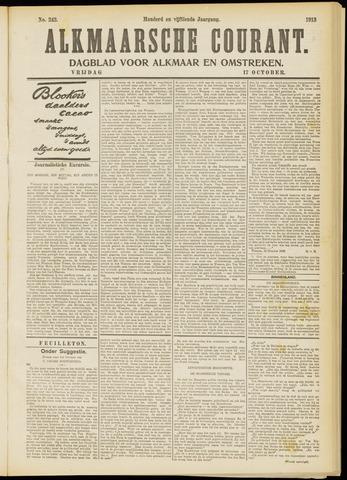 Alkmaarsche Courant 1913-10-17