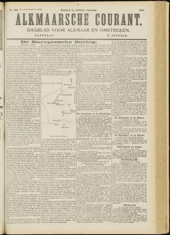 Alkmaarsche Courant 1914-10-17