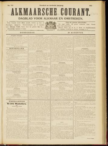 Alkmaarsche Courant 1911-08-24
