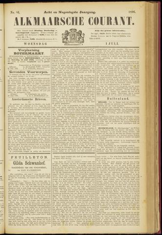 Alkmaarsche Courant 1896-07-01