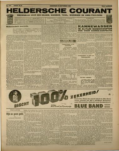 Heldersche Courant 1932-09-15