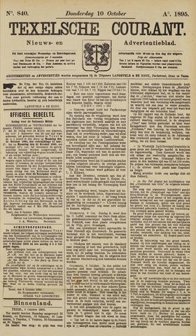 Texelsche Courant 1895-10-10