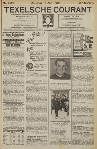 Texelsche Courant 1931-04-18