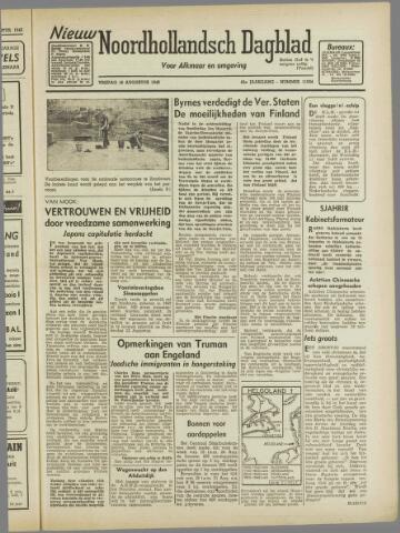 Nieuw Noordhollandsch Dagblad : voor Alkmaar en omgeving 1946-08-16